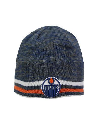 Reebok Center Ice Edmonton Oilers Team Beanie-DARK BLUE-One Size