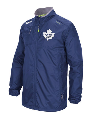Reebok Toronto Maple Leafs Center Ice Rink Jacket-DARK BLUE-Small