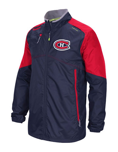 Reebok Montreal Canadiens Center Ice Rink Jacket-TRUE NAVY-Small