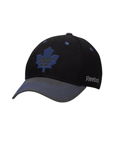 Reebok Toronto Maple Leafs Face-Off Tri-Tone Structured Flex Cap-BLUE MULTI-S/M