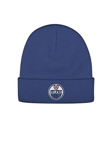 Reebok Edmonton Oilers Cuffed Beanie-BLUE-One Size