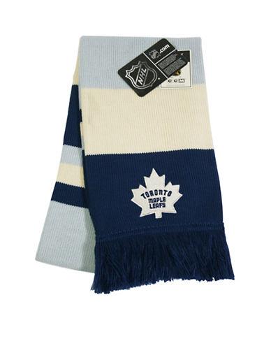 Reebok Toronto Maple Leafs CCM Jacquard Scarf-BLUE-One Size