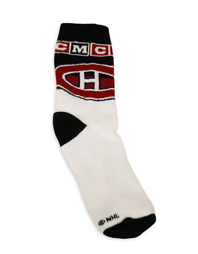 Reebok Montreal Canadiens CCM Socks-RED-One Size