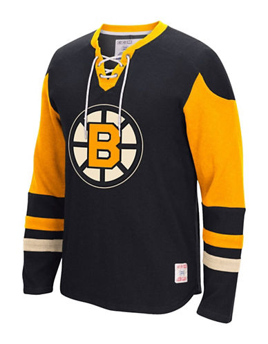 Reebok CCM Boston Bruins Jersey-BLACK-Large