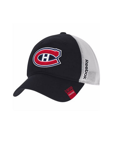 Reebok Center Ice Montreal Canadiens Team Slouch Cap-BLACK-S/M