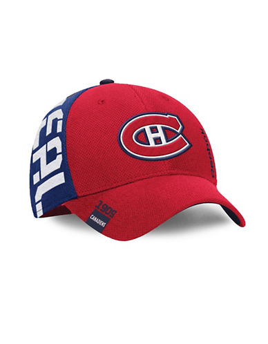 Reebok Center Ice Montreal Canadiens NHL Draft Cap-RED/BLUE-L/XL