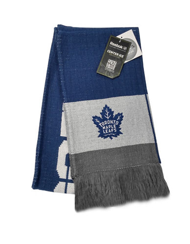 Reebok Toronto Maple Leafs Team Scarf-BLUE-One Size