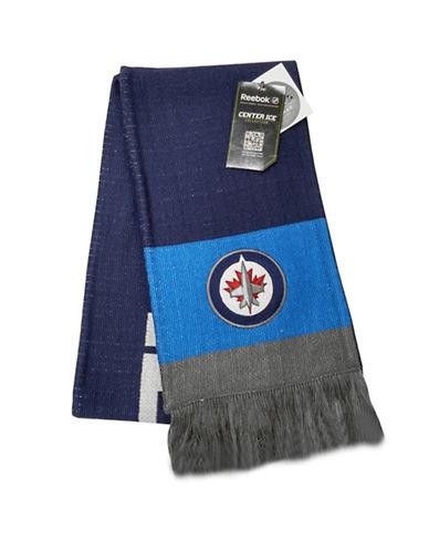 Reebok Winnipeg Jets Team Scarf-DARK NAVY-One Size