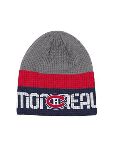 Reebok Montreal Canadiens Knit Beanie-GREY-One Size