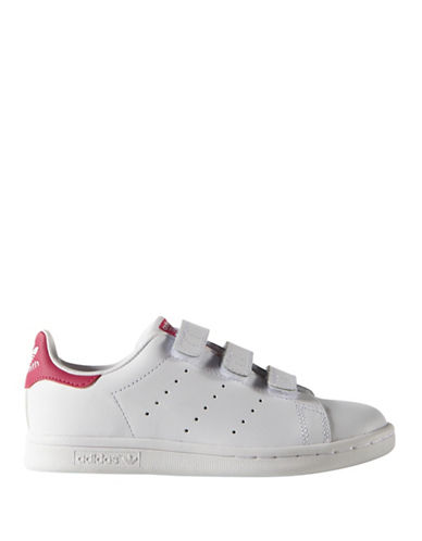 Adidas Stan Smith CF Leather Sneakers-PINK-12