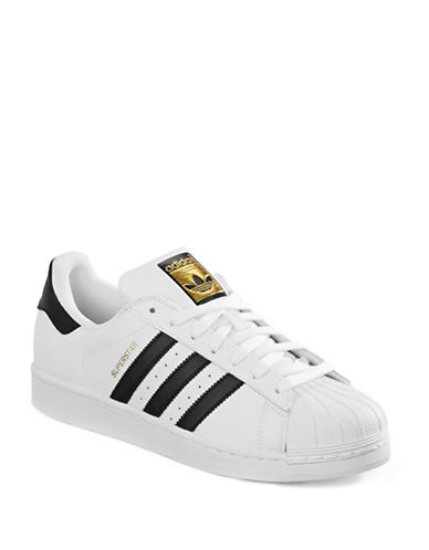 Adidas Originals Mens Superstar-WHITE-9.5