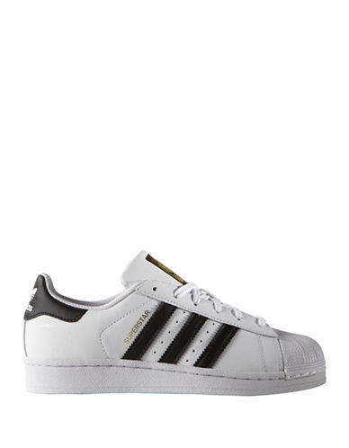 Adidas Superstar J Sneakers-BLACK-7