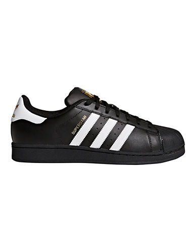 Adidas Mens Superstar Foundation-BLACK-7.5
