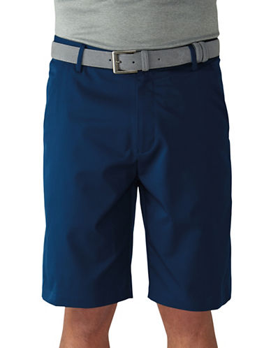 Ashworth Performance Solid Stretch Shorts-NAVY-36