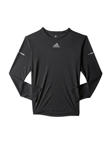 Adidas Sequentials Climalite Running Tee-BLACK-X-Large 88733321_BLACK_X-Large