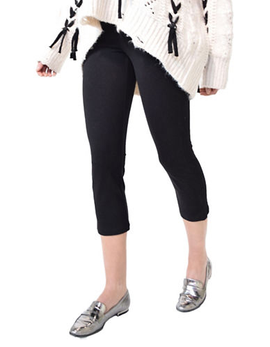 Hue Capri Leggings-BLACK-X-Small 89821504_BLACK_X-Small
