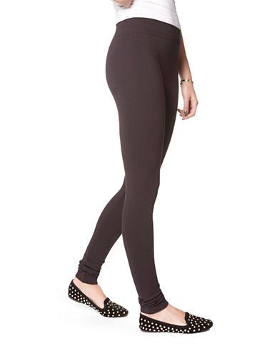 Hue Seamless Solid Leggings-BLACK-Medium/Large 87727337_BLACK_Medium/Large