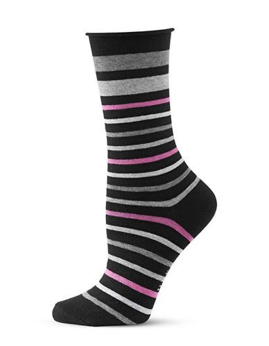 Hue Jean Socks-BLACK PUNK-One Size