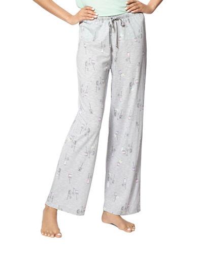 Hue Cocktail Time Pyjama Pants-GREY-Medium 88510871_GREY_Medium