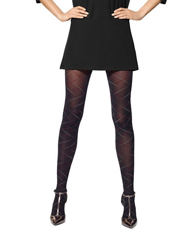 Hue Criss Cross Bias Control Top Tights-BLACK-Small/Medium 88624842_BLACK_Small/Medium