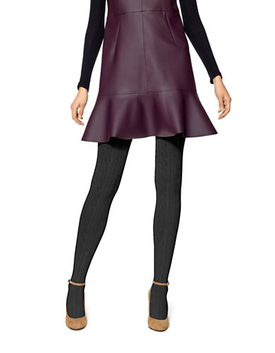 Hue Luxe Sweater Tights-BLACK-Medium/Large plus size,  plus size fashion plus size appare