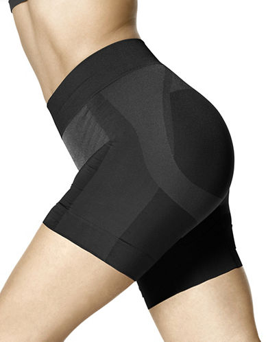 Hue Seamless Shaping Shorts-BLACK-X-Large