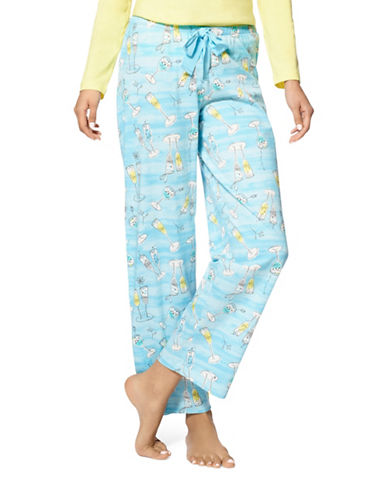 Hue Cocktail Break Pyjama Pants-BLUE-Small 88648829_BLUE_Small