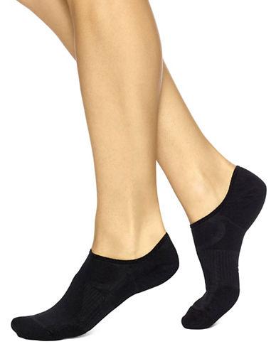Hue Three-Pack Air Sleek Liner Cushion Socks-BLACK-One Size 89018487_BLACK_One Size