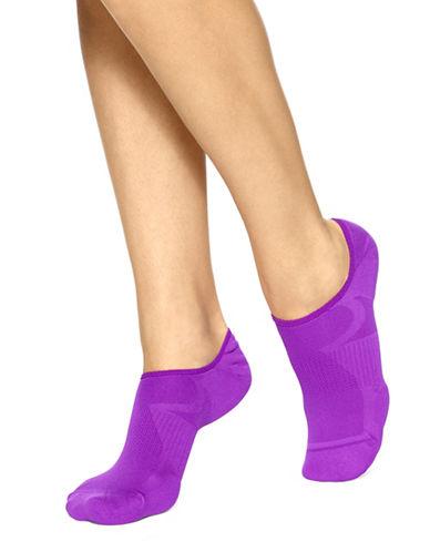 Hue Three-Pack Air Sleek Liner Cushion Socks-PURPLE-One Size 89018488_PURPLE_One Size