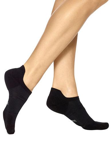 Hue Three-Pack Air Sleek Tab Back Liner Cushion Socks-BLACK-One Size 89018491_BLACK_One Size