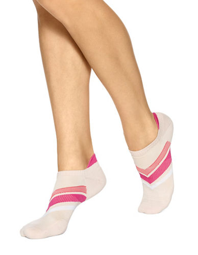 Hue Three-Pack Air Sleek Tab Back Liner Cushion Socks-PINK-One Size 89018492_PINK_One Size
