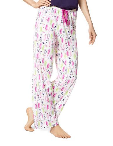 Hue Stay Fresh Pants-NATURAL-Large