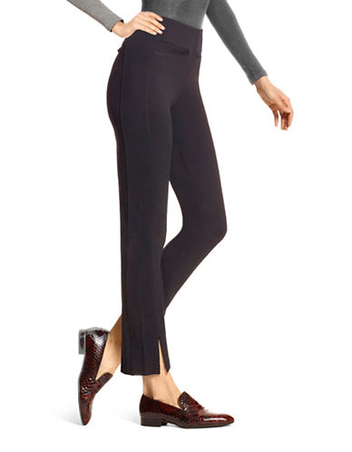 Hue High Waist Leggings-BLACK-X-Small