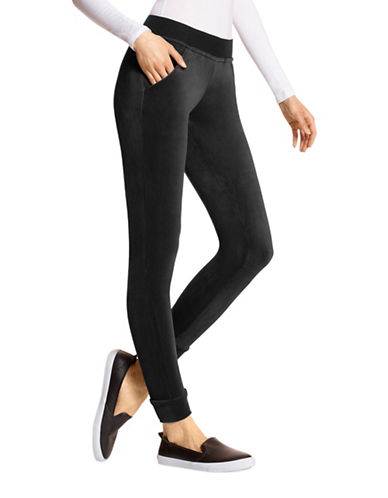 Hue Velour Track Pants-BLACK-Large 89169199_BLACK_Large