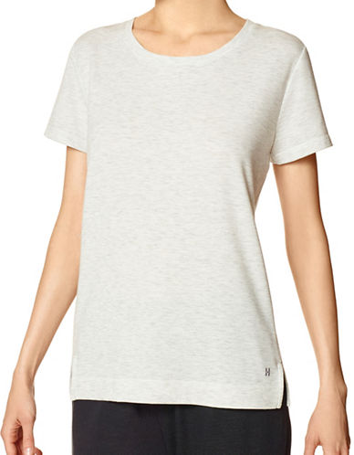 Hue Interior Script T-Shirt-BEIGE-Medium