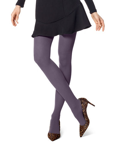Hue Opaque Tights-PURPLE-2