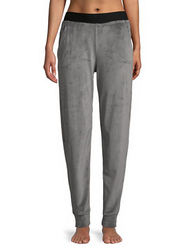 Hue Velour Track Pants-CASTLEROCK-Medium