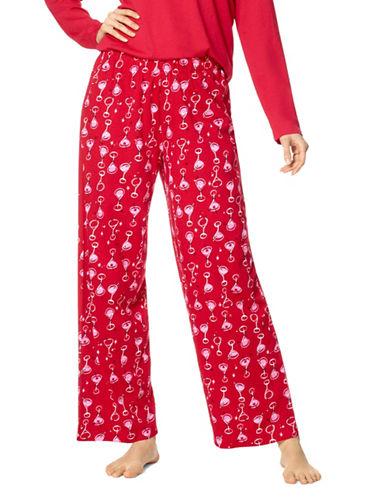 Hue Joytini Cupid Pyjama Pants-CURD-Small