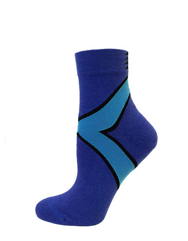 Hue Power Mini Crew Socks-BLUE SHOCK-One Size 89583267_BLUE SHOCK_One Size