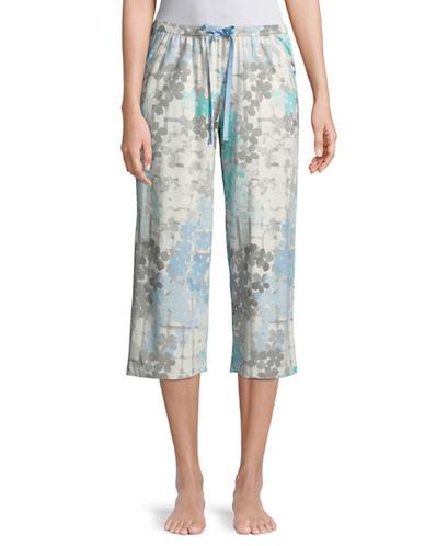 Hue Flower Hedge Capri Pyjama Pants 89725700