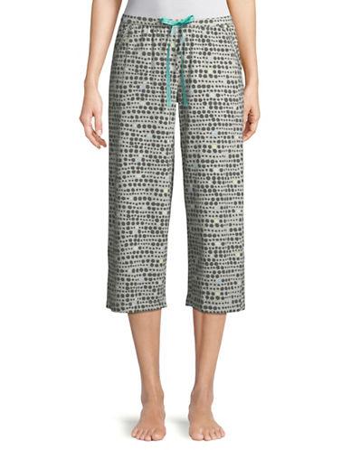 Hue Dot Line Capri Pyjama Pants 89725710
