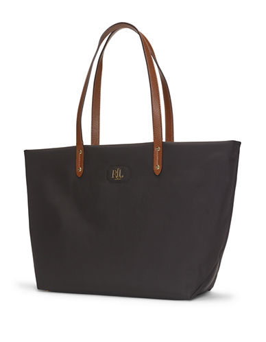 Lauren Ralph Lauren Bainbridge Tote-BLACK-One Size
