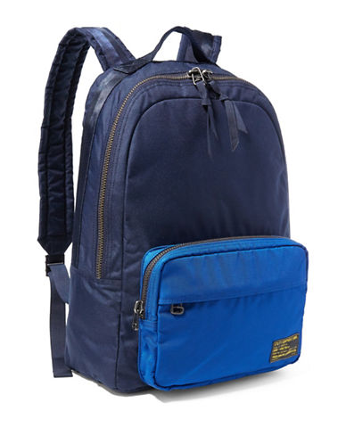 Polo Ralph Lauren Military Nylon Dome Backpack-NAVY/ROYAL-One Size