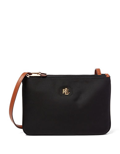 Lauren Ralph Lauren Bainbridge Crossbody Bag-BLACK-One Size