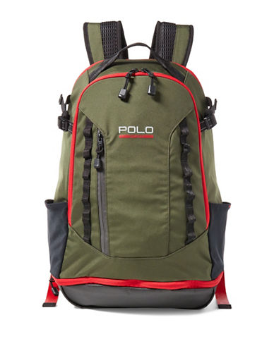 Polo Sport Sport Backpack-GREEN-One Size