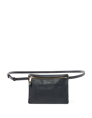 Lauren Ralph Lauren Winston Belt Bag-BLACK-X-Large