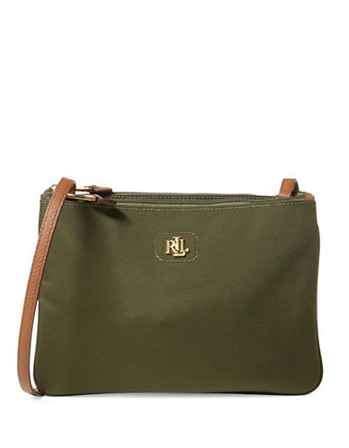 Lauren Ralph Lauren Tara Crossbody Bag-GREEN-One Size