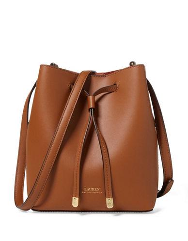 Lauren Ralph Lauren Mini Shoulder Bag-BROWN-One Size