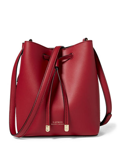 Lauren Ralph Lauren Mini Shoulder Bag-RED-One Size
