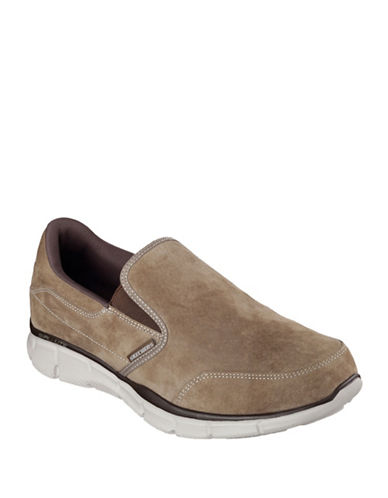 Skechers Equalizer Mind Game Slip-Ons-BROWN-11